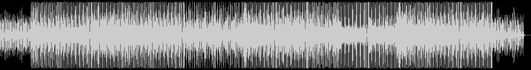 【ブラス抜き】小気味良いリズムの軽快なブの未再生の波形