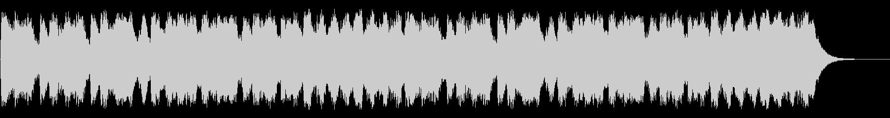 RPGの草原を歩くイメージのオーケストラの未再生の波形