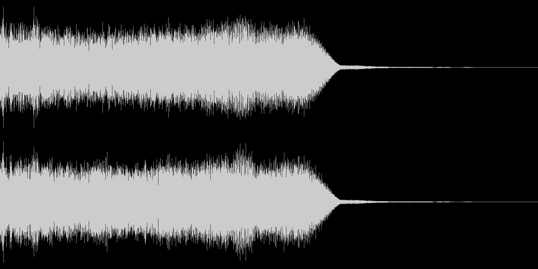 ロック・メタル系 ギターの速弾きフレーズの未再生の波形