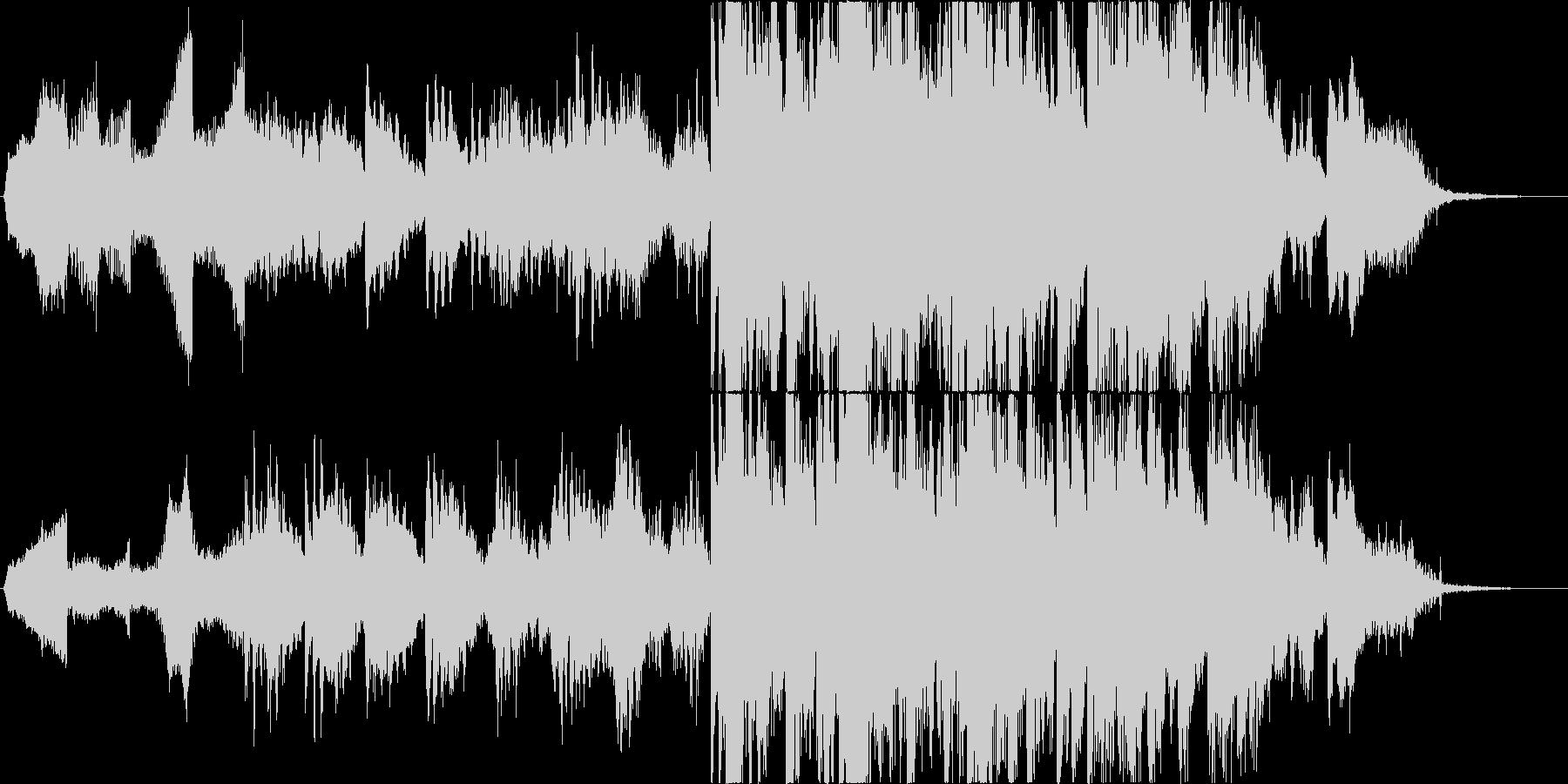 怖い曲 ホラーやミステリーにの未再生の波形