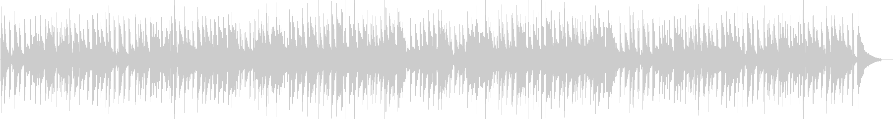 ほのぼの・リラックス・ボサノバ・ギターの未再生の波形