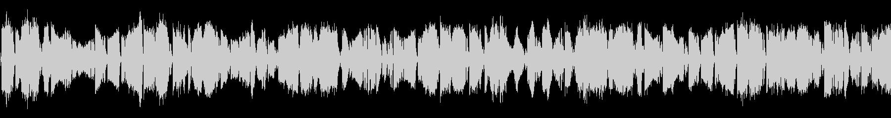 派手にバチバチする電撃・スパーク音ループの未再生の波形
