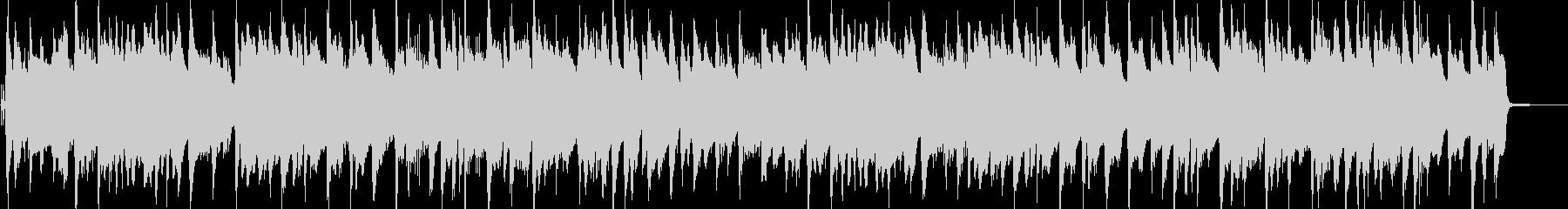 ピアノの可愛いラグタイムの未再生の波形