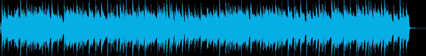 ピアノの可愛いラグタイムの再生済みの波形