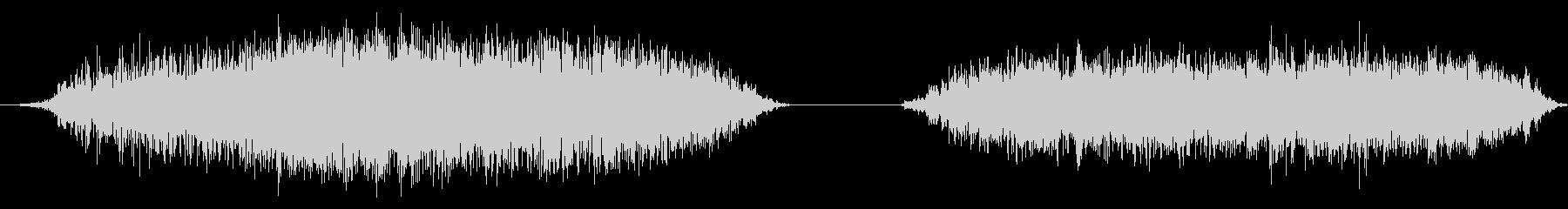 大きな黒いハゲタカ:2つのシューと...の未再生の波形