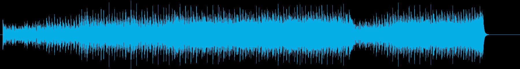 ダンサブルビートが効いたハイパーポップの再生済みの波形