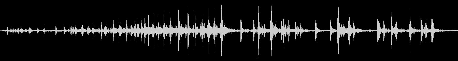 【生録音】握る音 グリップ 2の未再生の波形