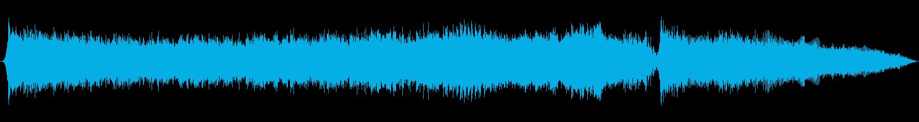 Cyber War_30secの再生済みの波形
