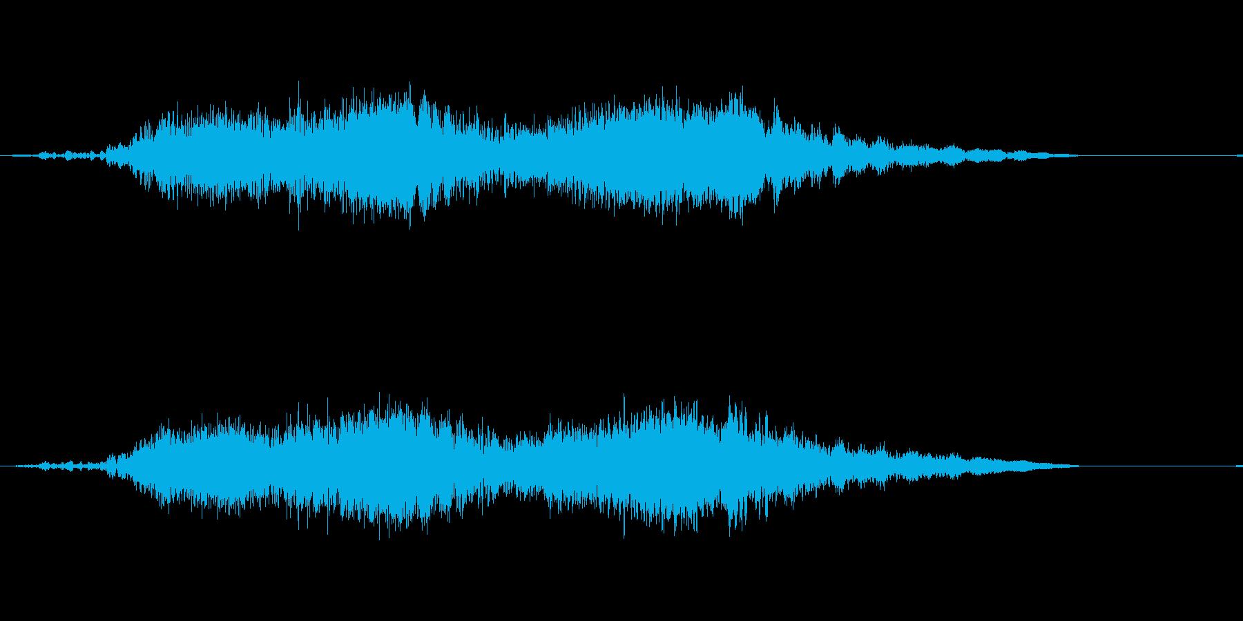 水中金属ストレスVer 3の再生済みの波形
