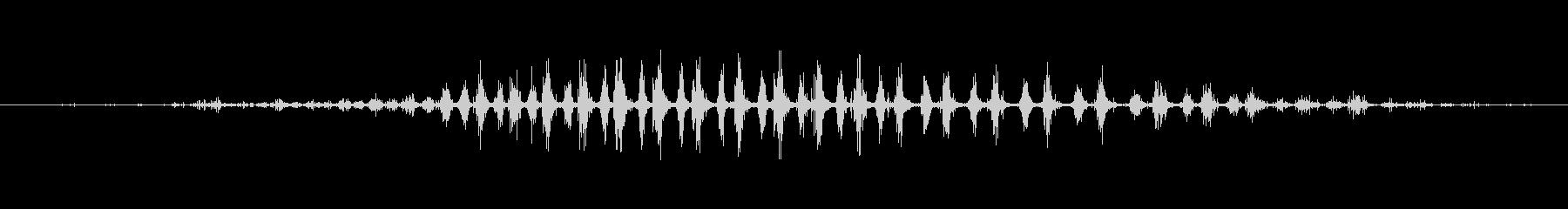 シェーカー ウッドラトルダイナミック05の未再生の波形