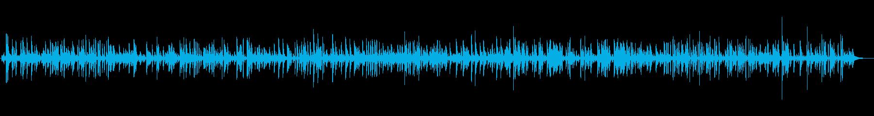 BGM|お洒落なジャズピアノ|店舗・映像の再生済みの波形