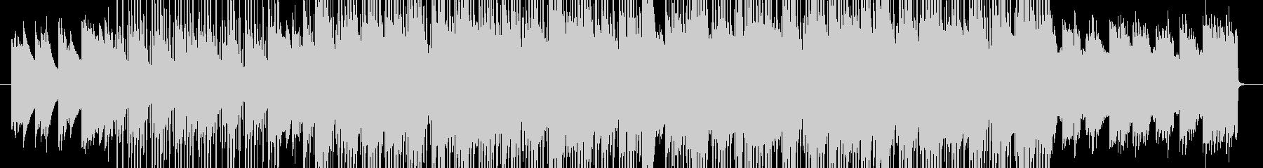 lo-fi hiphop的ポップピアノの未再生の波形