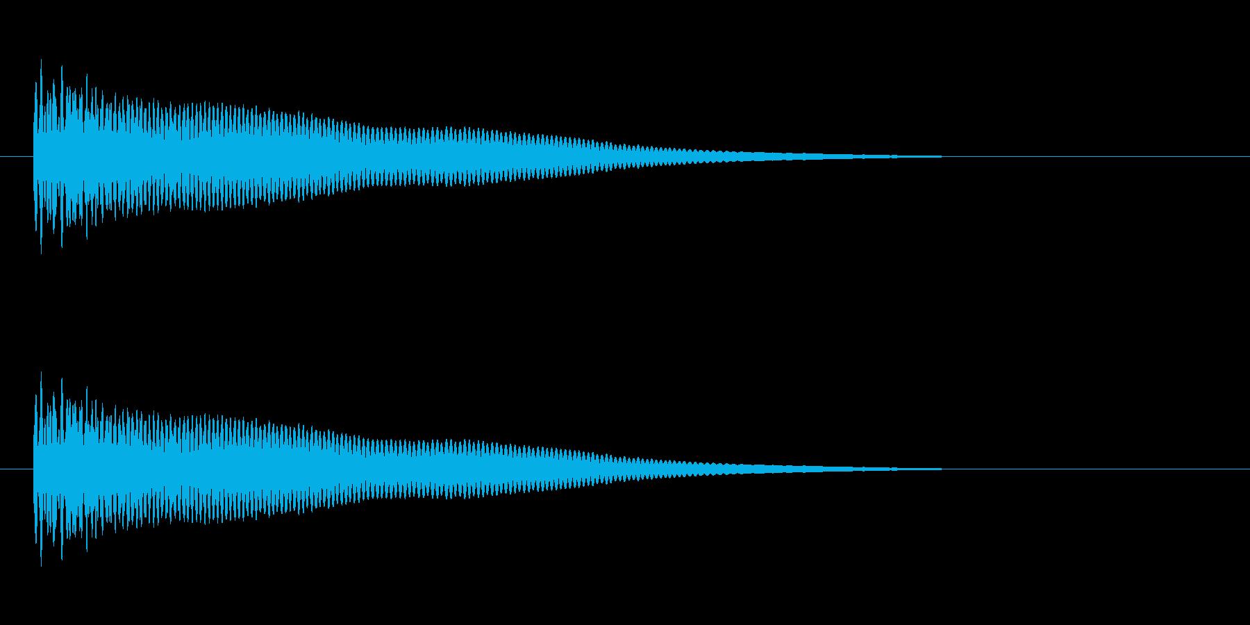 【光る05-1】の再生済みの波形