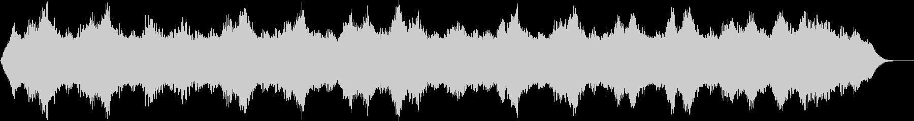 穏やかな癒し系アンビエント(B)の未再生の波形