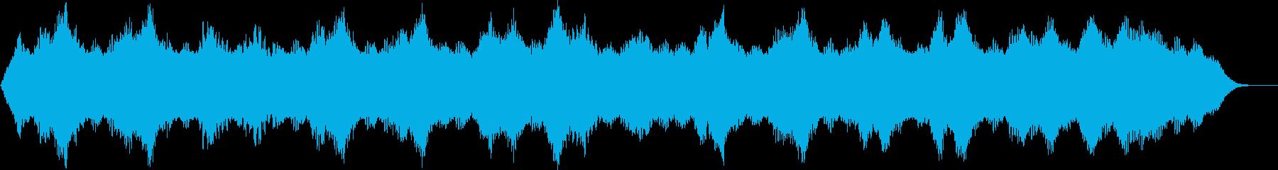 穏やかな癒し系アンビエント(B)の再生済みの波形