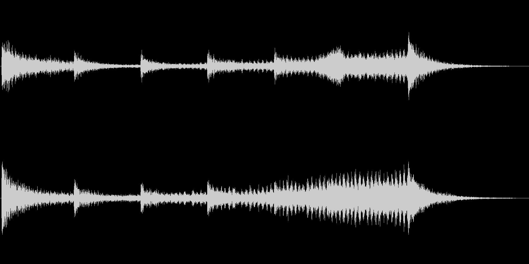 シーケンス カタコンベ01の未再生の波形