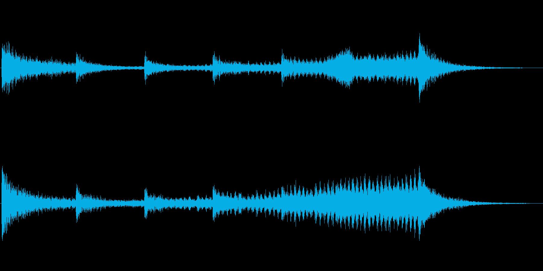 シーケンス カタコンベ01の再生済みの波形