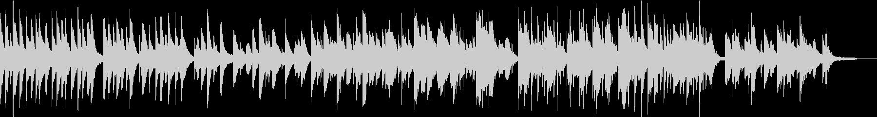 ピアノソロ アンビエント 深呼吸の未再生の波形