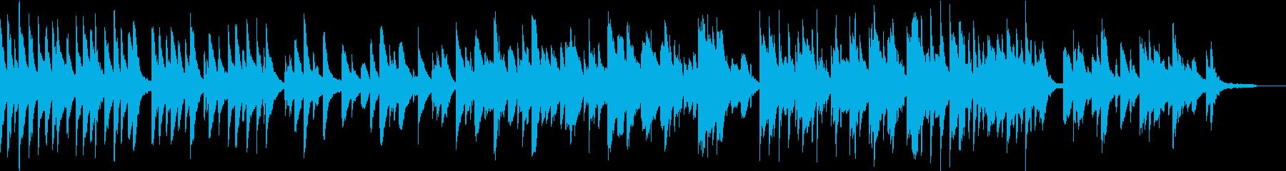 ピアノソロ アンビエント 深呼吸の再生済みの波形