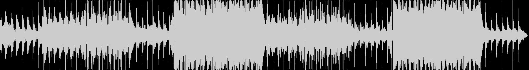 幻想的、フワフワ、エレクトロBGMの未再生の波形