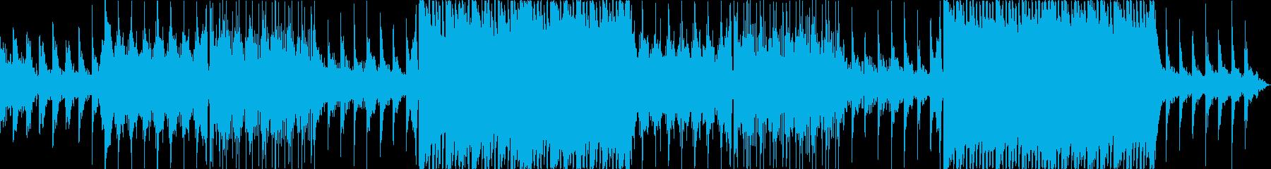 幻想的、フワフワ、エレクトロBGMの再生済みの波形