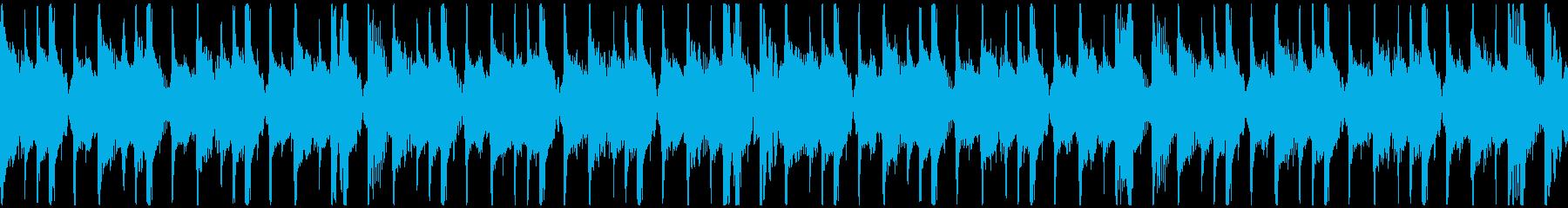 トロピカル・おしゃれ・セクシー/ループの再生済みの波形