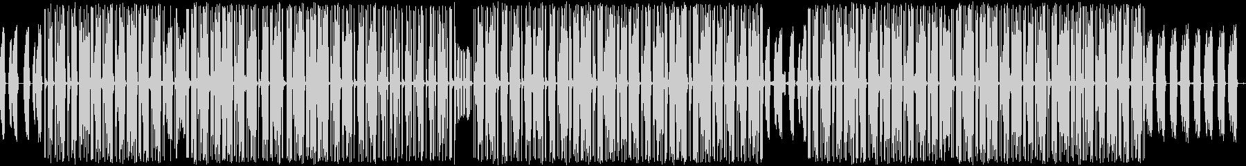 虫たちがダンスしているイメージの曲です。の未再生の波形