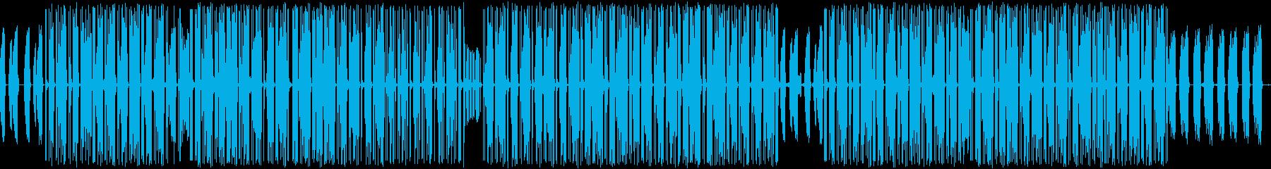 虫たちがダンスしているイメージの曲です。の再生済みの波形