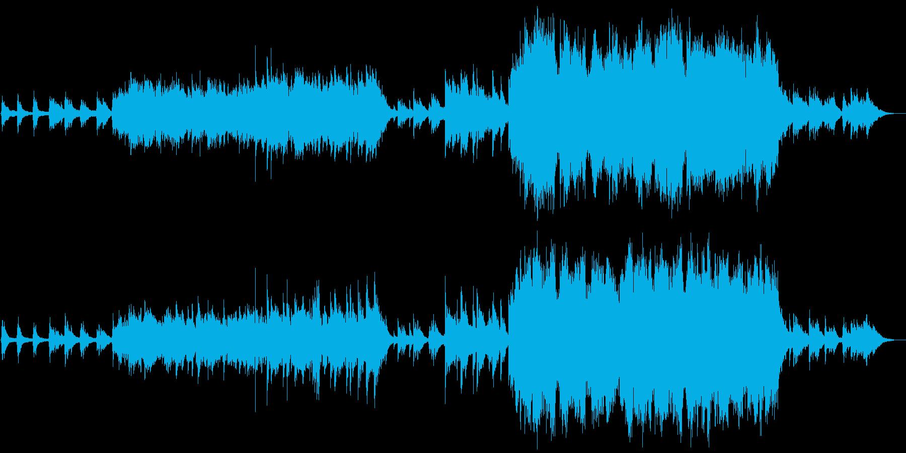 ファンタジー系、妖精の歌声の再生済みの波形