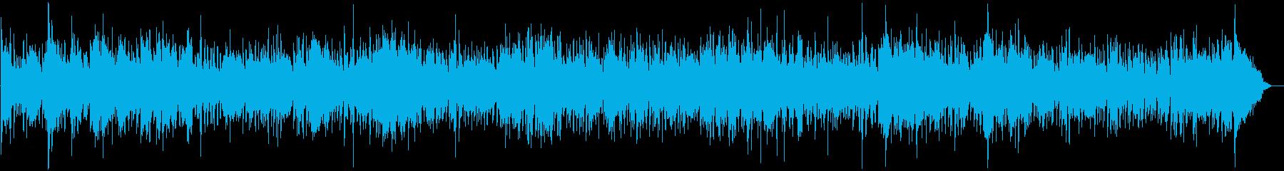 ウクレレ中心のゆったりハワイアンバンドの再生済みの波形