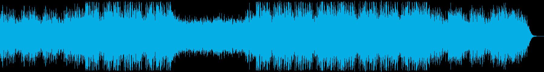 コロナの不安・ドキュメンタリー・トラップの再生済みの波形