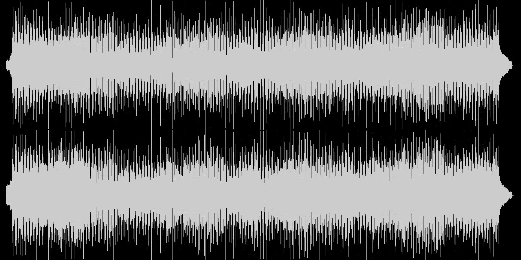 ハワイアンの定番をポップスアレンジの未再生の波形
