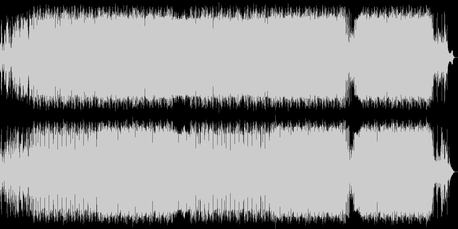 ピアノの旋律が印象的なバラード/ポップスの未再生の波形