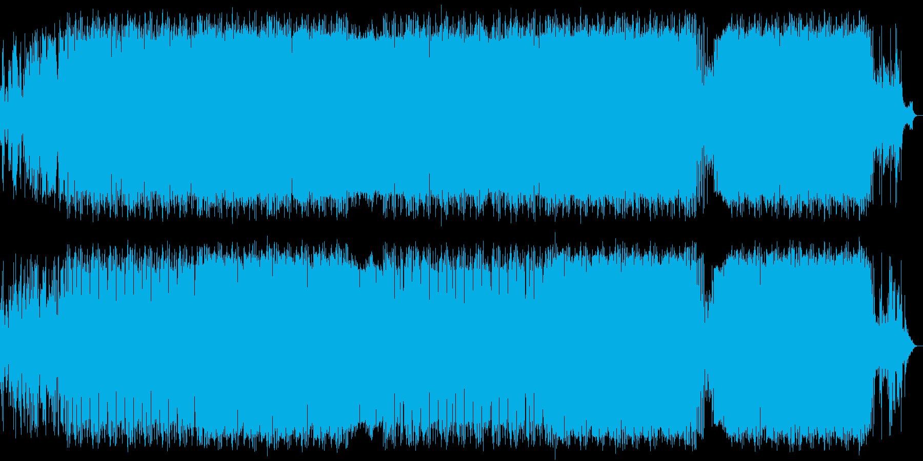 ピアノの旋律が印象的なバラード/ポップスの再生済みの波形