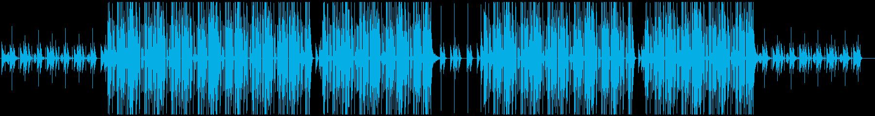 ヒップホップ、ローファイ、トラップ♪の再生済みの波形