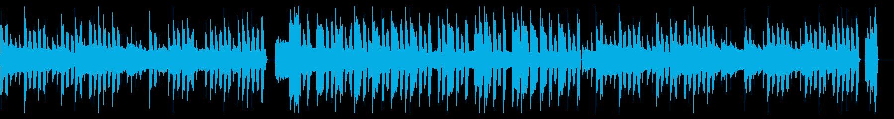 ほのぼのとして可愛らしいBGMの再生済みの波形