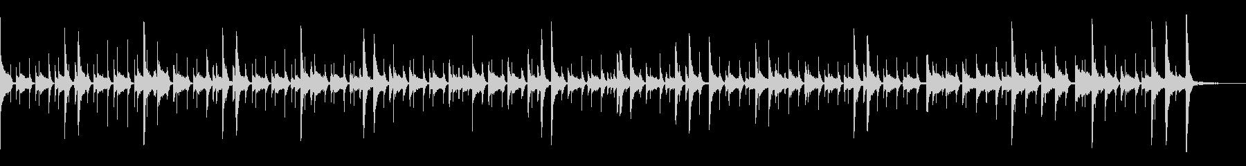 ドラム:ジャズリズム、ハイハット、...の未再生の波形
