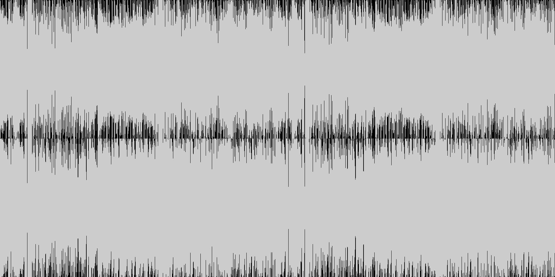 軽快さとわくわく感溢れるポップインストの未再生の波形