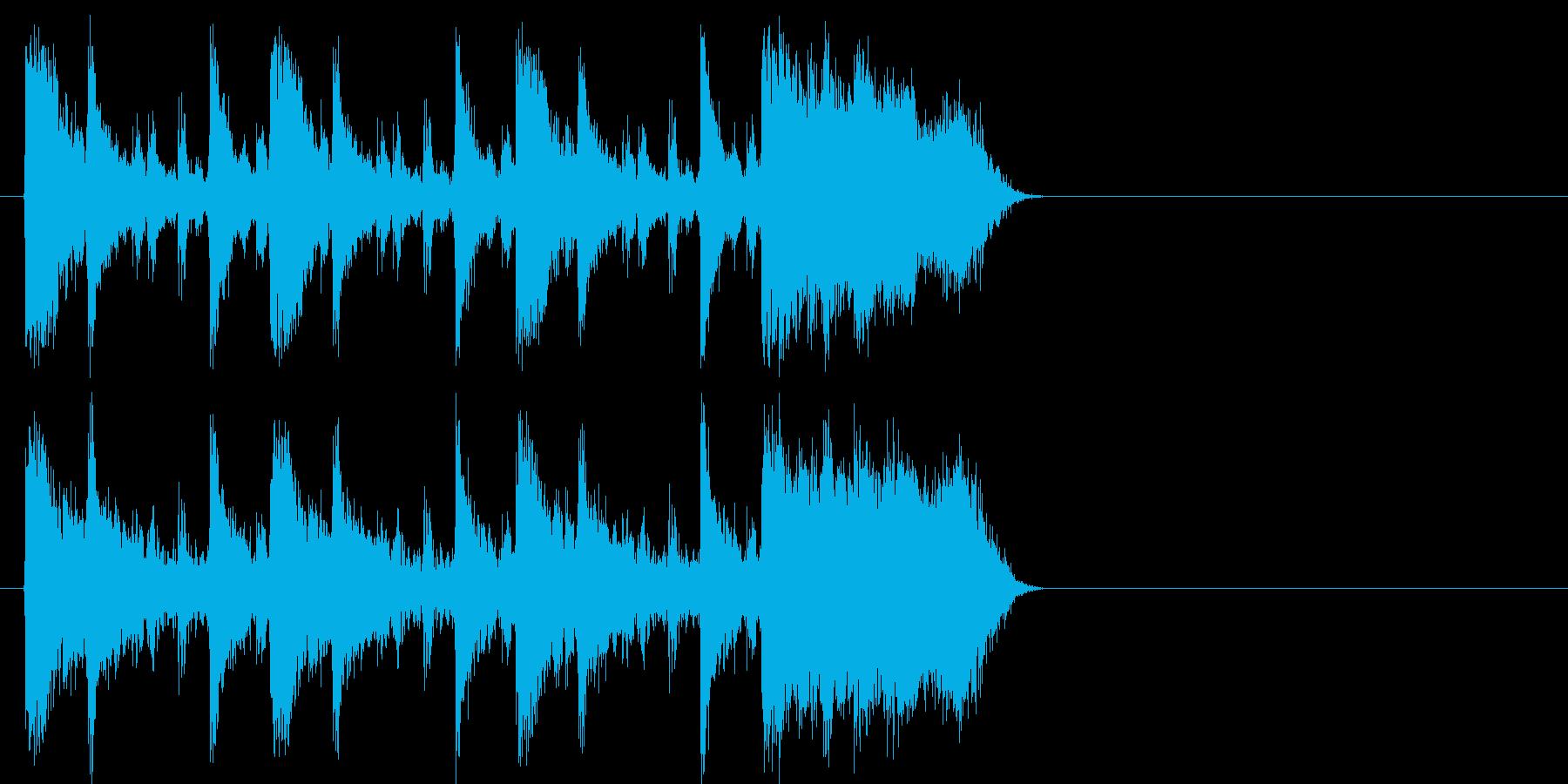 クイズ おしゃれ 流行 ディスコ 躍動の再生済みの波形