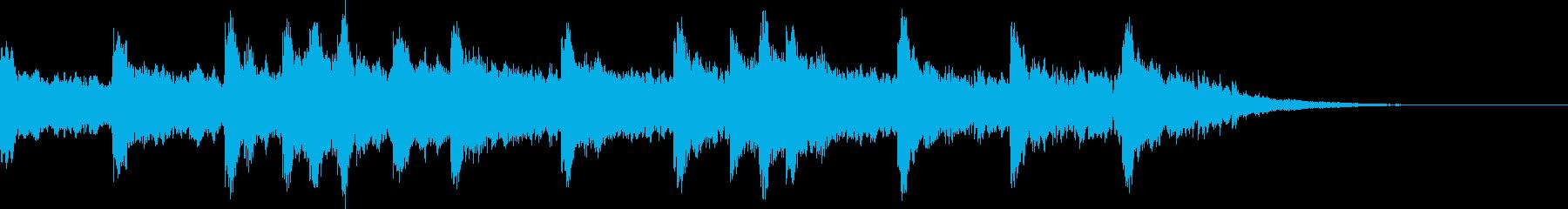 中国歴史、二胡、琵琶の音。の再生済みの波形