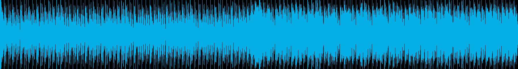 EDMクラブ系ダンスミュージック-126の再生済みの波形