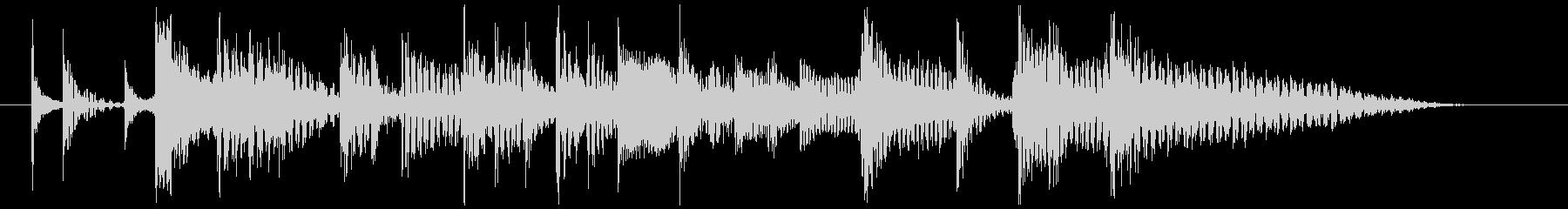 80's ニューウェイブ風ジングル2の未再生の波形