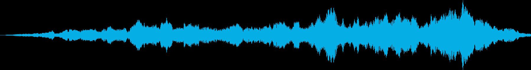 テレポーテーションで瞬間移動の再生済みの波形