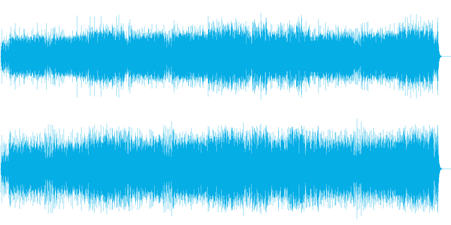 スチールドラムによる南方系リゾートの再生済みの波形