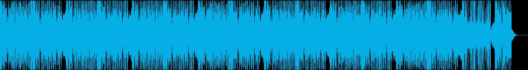 ダークなエレクトロの再生済みの波形