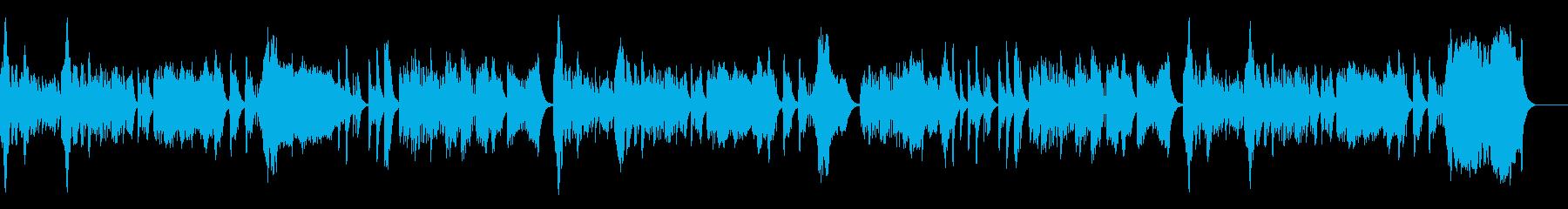 メルヘンでかわいいオルゴールの再生済みの波形