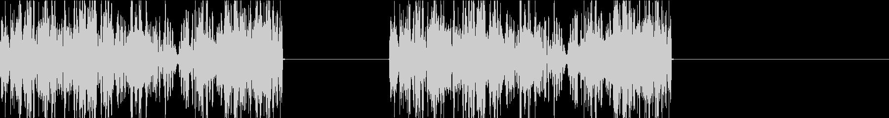 DJプレイ スクラッチ・ノイズ 149の未再生の波形