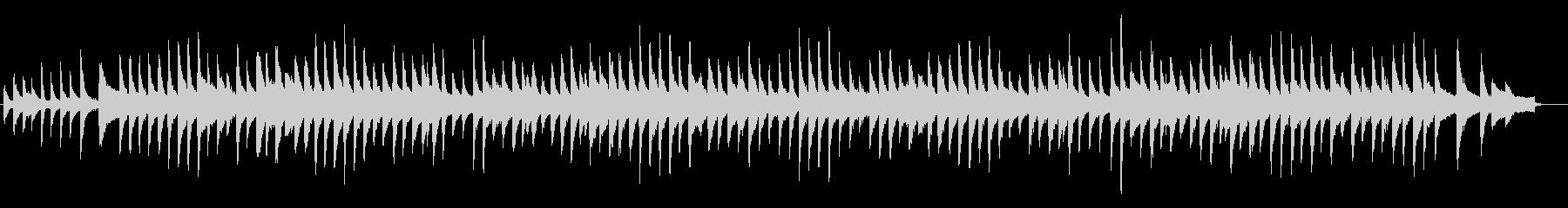 荒城の月・ピアノの未再生の波形