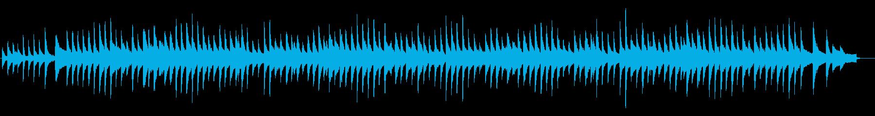 荒城の月・ピアノの再生済みの波形