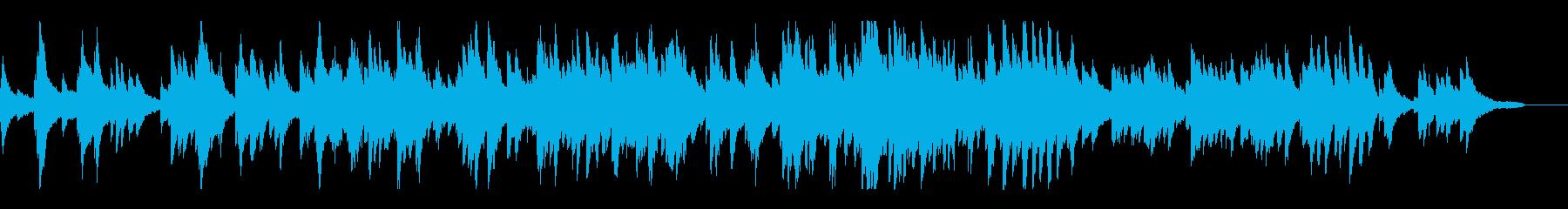 ピアノとストリングスの爽やかなポップスの再生済みの波形